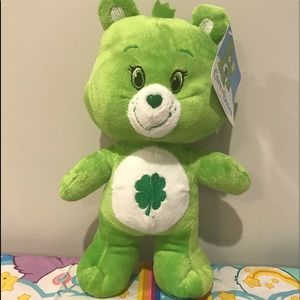 ✨✨✨✨Good Luck 🍀 Care Bear Plush✨✨✨✨